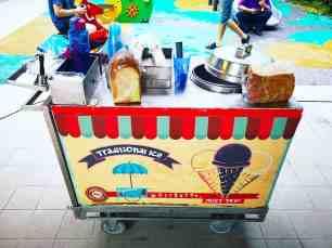 Traditional Ice Cream Cart Rental