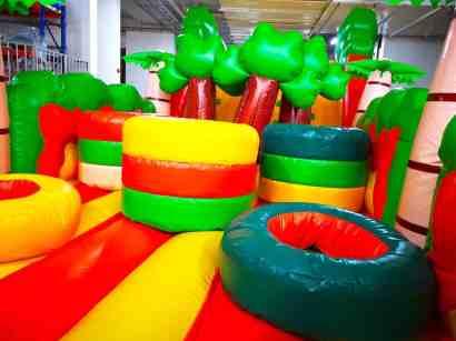 Safari Obstacle Course Rental