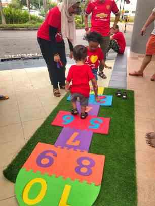 Singapore Hopscotch For Kids