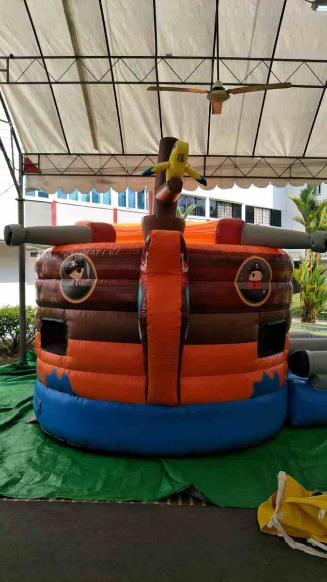 Pirate Ship Bouncy Castle for Event Rental