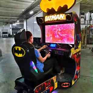 Arcade Racing Batman Machine for Rent