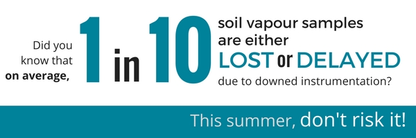 Soil Vapour Guarantee (1) industry statistic