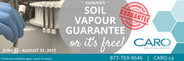 soil vapour guarantee CARO