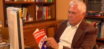 Orlando Ramírez autor del libro: El mercadeo del café oro en Venezuela