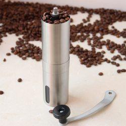 Molino de café manual de acero inoxidable