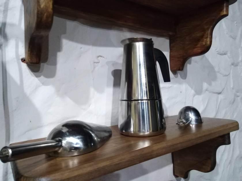 Cafetera Moka Pot o mejor conocida en Venezuela como Greca.