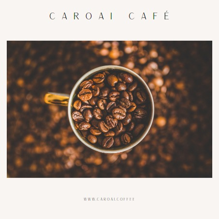 Caroai Café te ofrece café de origen, tanto de su propio cultivo o de productores asociados.