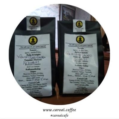 Si estás en Táchira o en cualquier parte de Venezuela, compra Caroai Café.