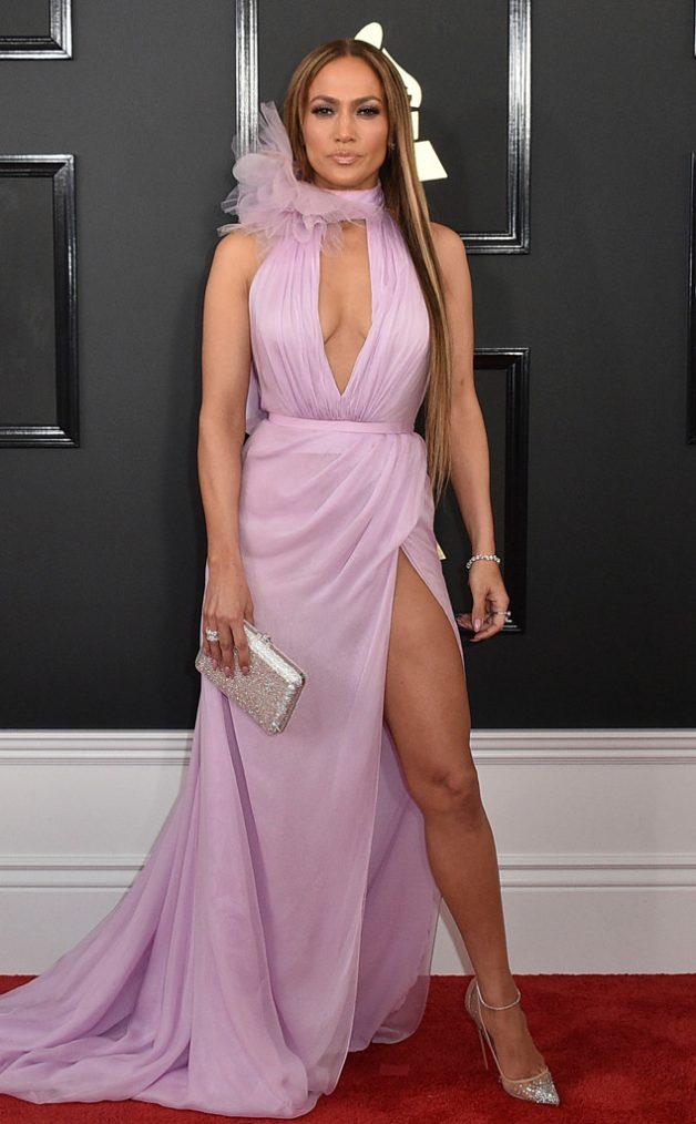 Look da Jennifer Lopez no Grammy Awards 2017