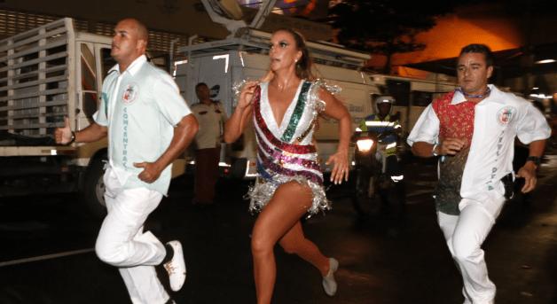 O carnaval da cantora Ivete Sangalo na Grande Rio 2017