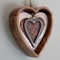 Carol Braden, LLC. Wooden Heart Wall Decor