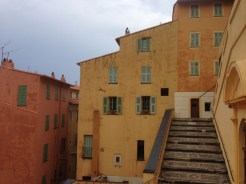 Coloured houses, Menton