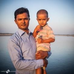 Zakir mit seinem Sohn Siam