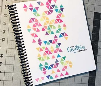 Quilters Planner Giveaway
