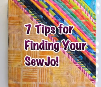Finding youor quilting sewjo