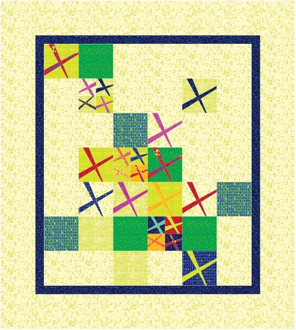 Patriotic Modern Quilt Pattern Update 2 - Carole Lyles Shaw