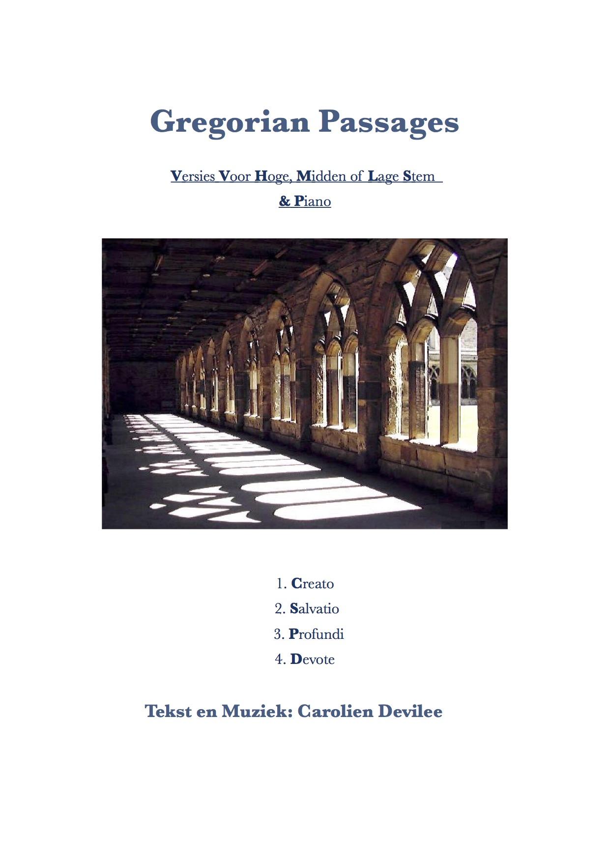 Gregorian Passages