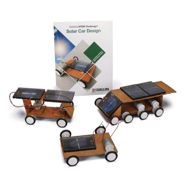 Carolina Design Challenge Stem Solar Car Kit
