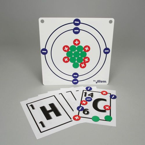 small resolution of magnetic atom model set