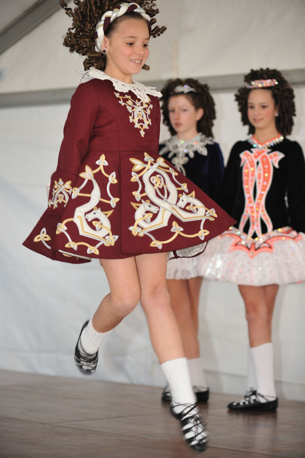"""Celebrate NC History Festival"" Nov. 5, 2011 - Inis Cairde School of Irish Dance"