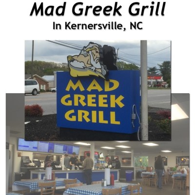 Mad Greek Grill in Kernersville, NC
