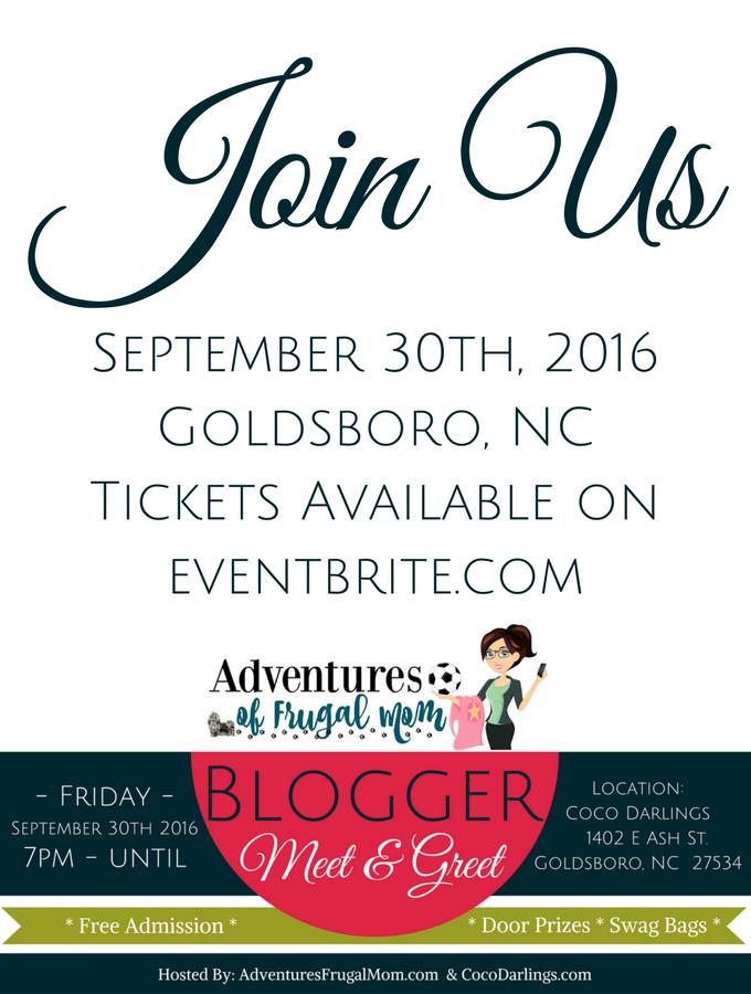 Blogger Meet & Greet – September 30th, 2016