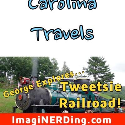 George Taylor Visits Tweetsie Railroad!