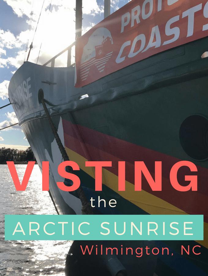 Arctic Sunrise in Wilmington, NC