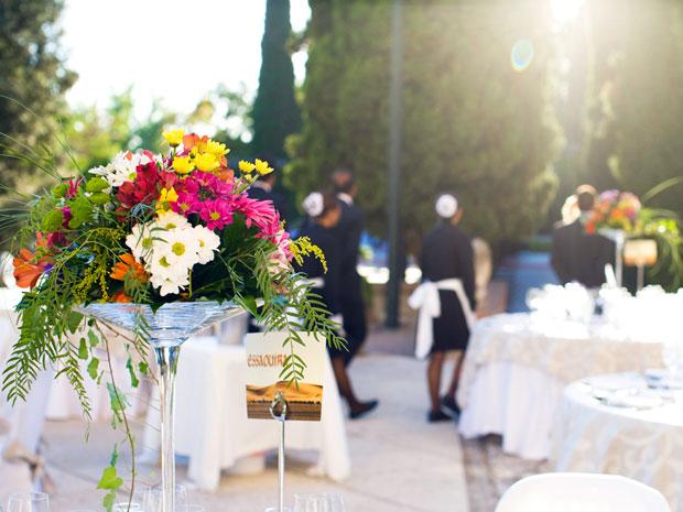 Centros de mesa para bodas en Granada  Flores y otros