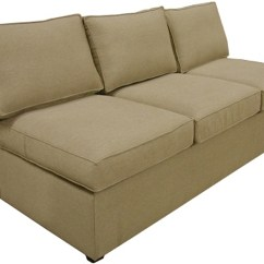 Sleeper Sofa No Arms Best Quality Chesterfield Yeats Sectional Armless Queen Carolina Chair Product Image