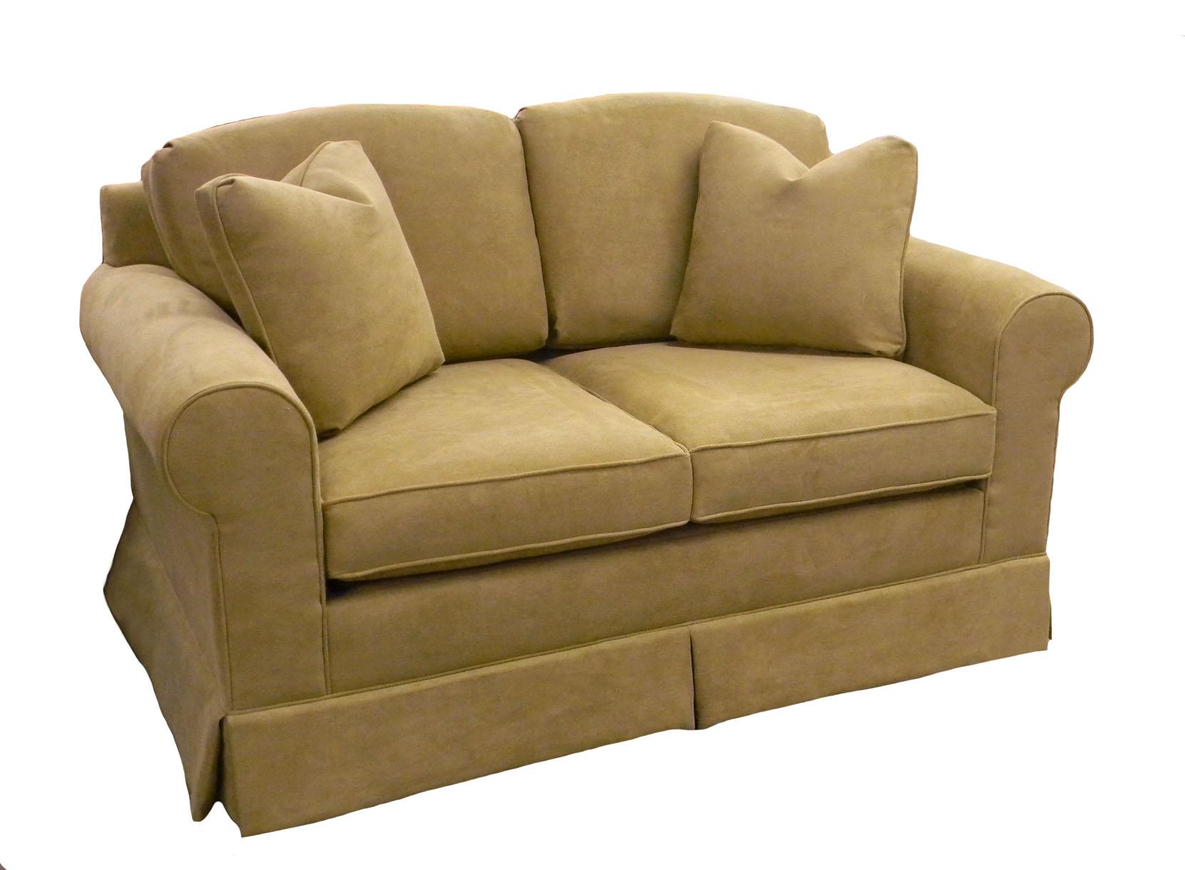 Hughes Twin Sleeper Sofa Chair Small Couch Carolina Chair
