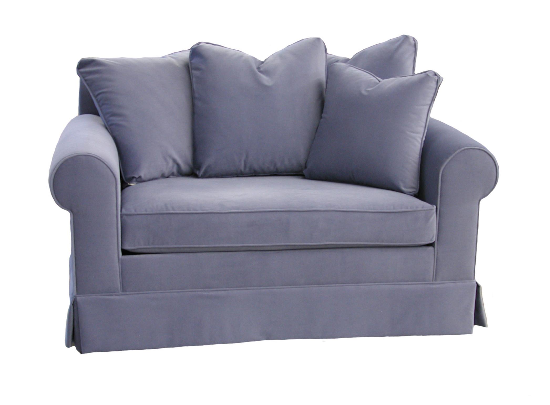 chair and half sleeper sofa blue dot bank a klaussner brighton 24900