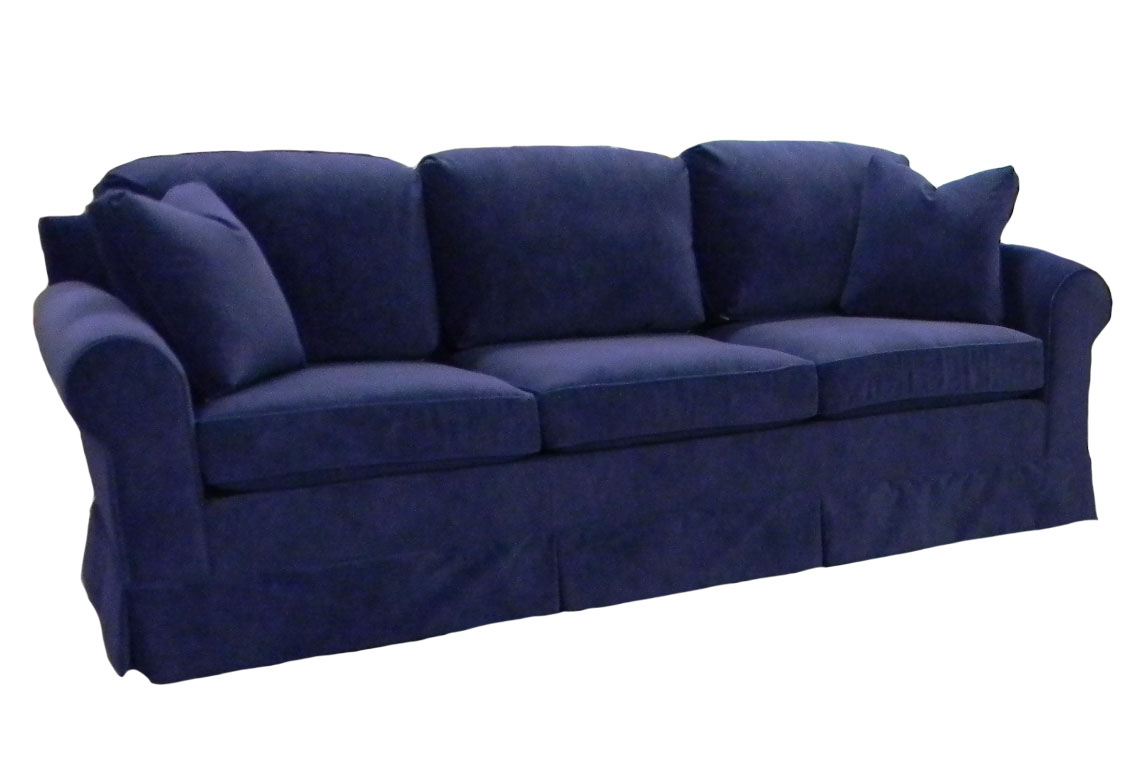 sofaworks barrow lancaster leather sofa hughes couch carolina chair north american made usa product image