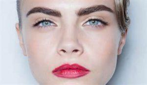 delevigne eyebrows