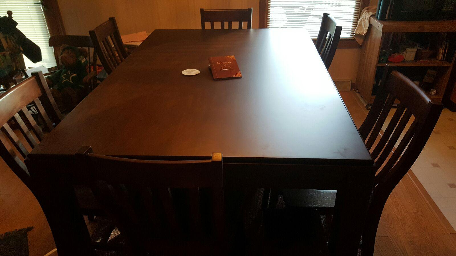 kitchen table set with bench organization tips add two matching chairs to your carolina game ...