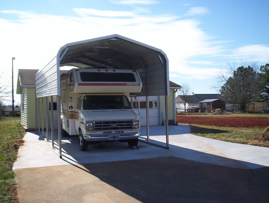 Carports North Carolina NC Metal Garages Steel Buildings Barns RV Covers