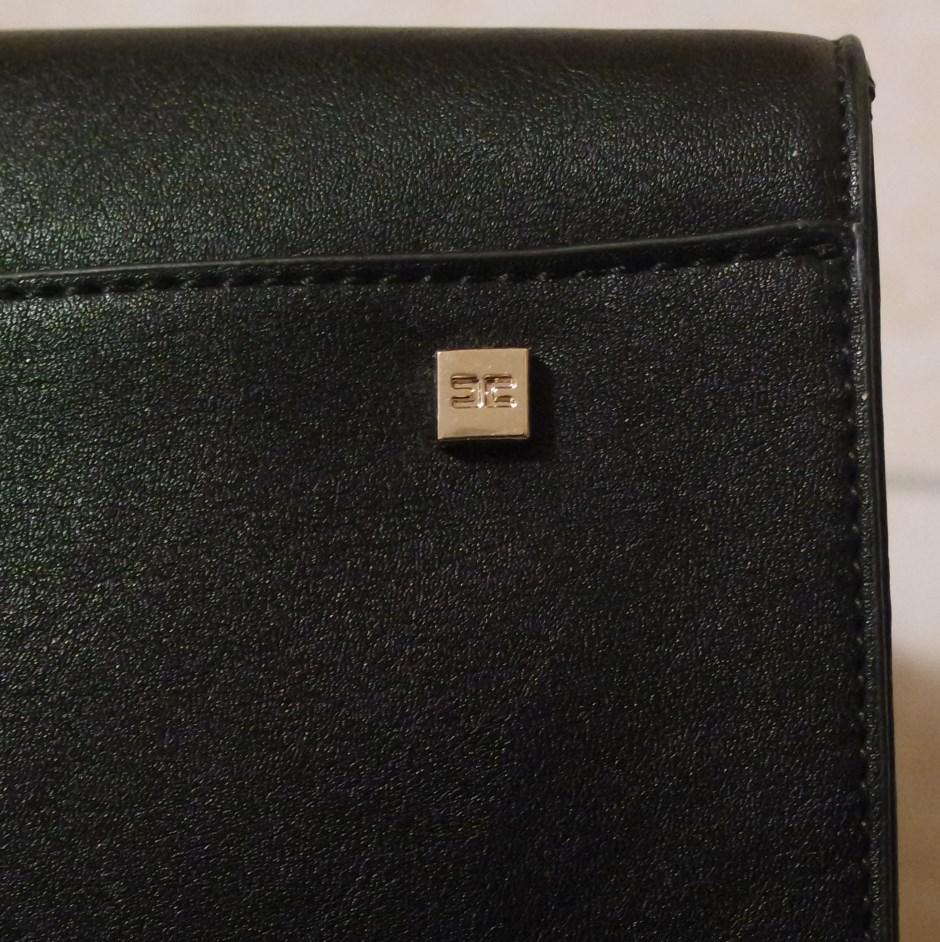 Borse di Elisabetta Franchi - Tacchetto tote bag nera