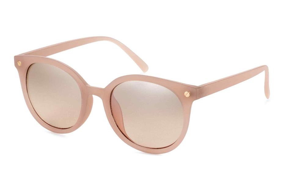 Occhiali da sole rosa cipria