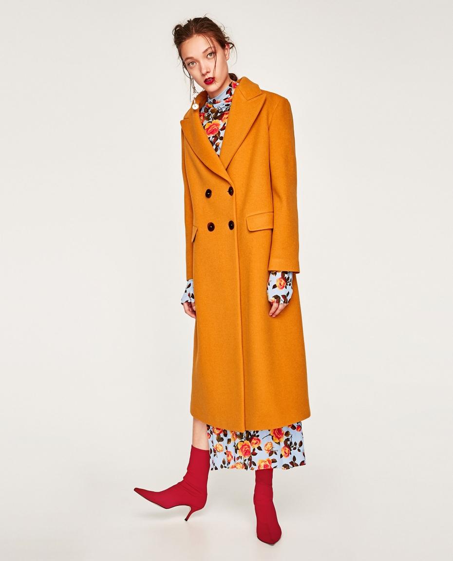 Cappotto lungo Zara