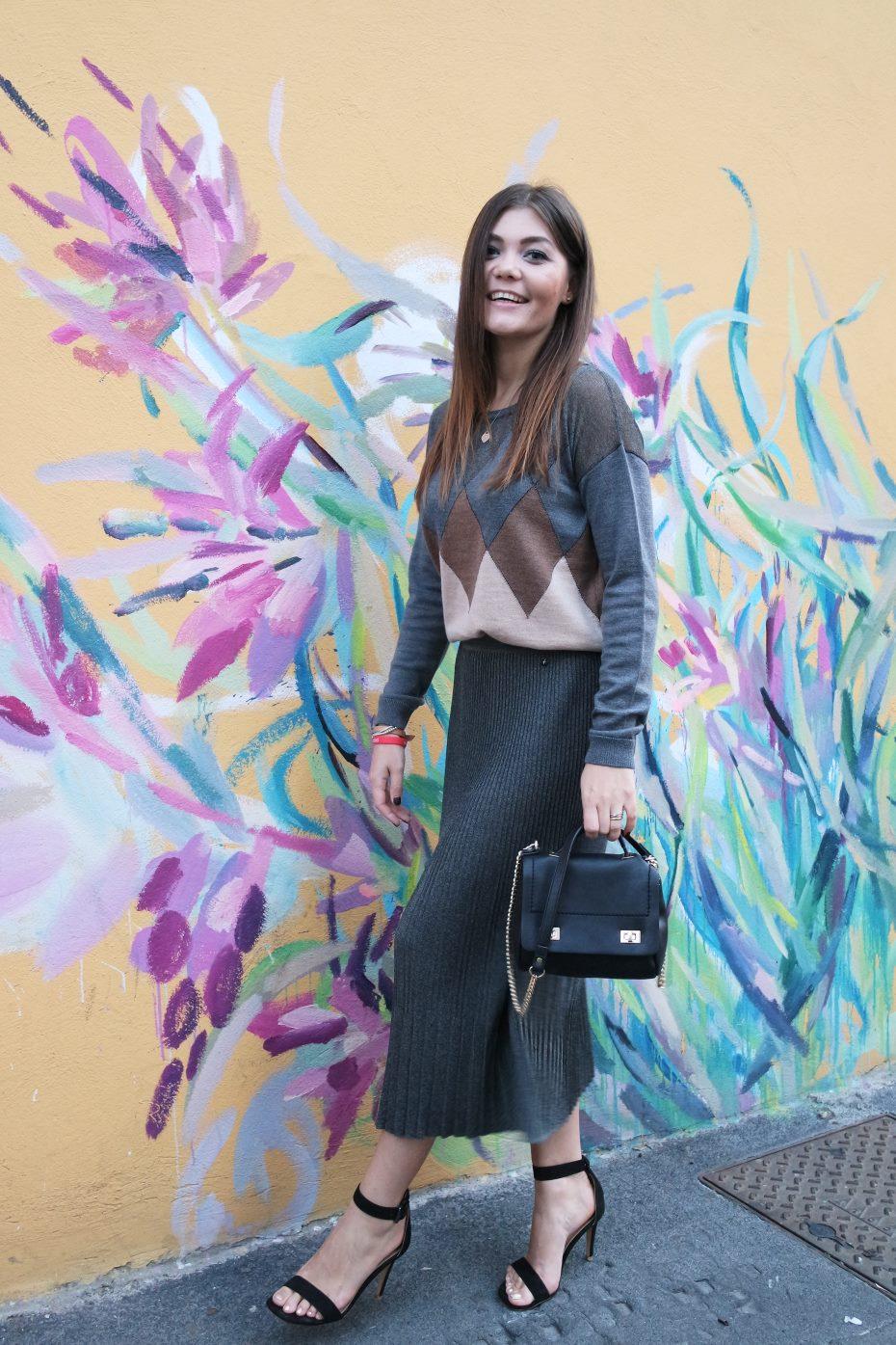 Pose da fashion blogger