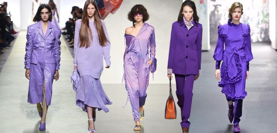Ultra violet sfilate
