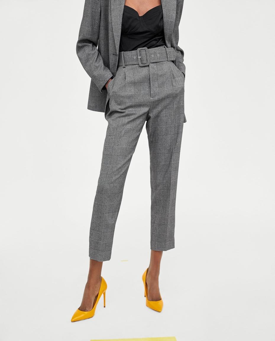 Completo elegante con pantaloni Zara