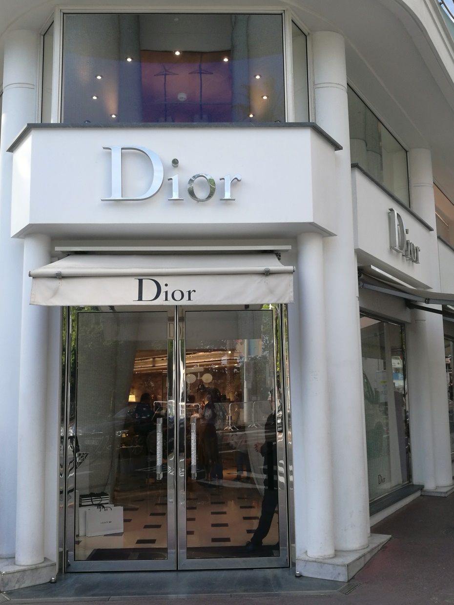 Dior Cannes
