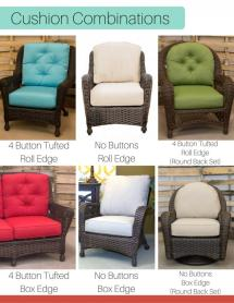 Northcape Charleston Loveseat Cushion Replacement Cushions