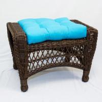 Ottoman - Veranda Turquoise | Outdoor | Carolina Pottery