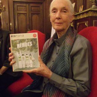 Jane Goodall y Ecomanía #13