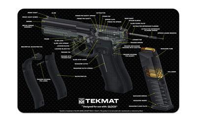 Tekmat Cutaway Pstl Mat For Glk Black