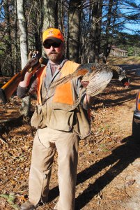 Guide Marcus Heath of Primland, just across the North Carolina border in Virginia, does plenty of pheasant hunts during preserve season.