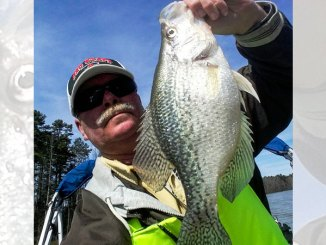 Guide Chris Bullock likes to target prespawn and postspawn crappie on Kerr Lake throughout April.