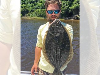 Guide Matt Littleton of Swansboro, N.C., targets flounder around any kind of old structure in inshore waters.